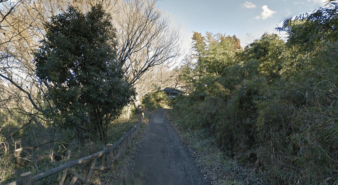 八王子市長沼町の鎌田鳥山までの道のり