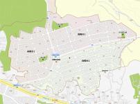 八王子市南陽台の地図