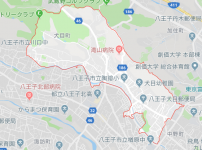 八王子市犬目町の地図