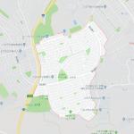 八王子市北野台の地図