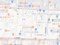 八王子市中町の地図