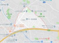 八王子市中野町の地図