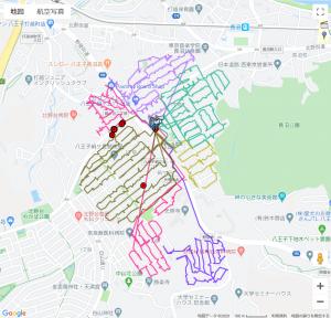 GPSログデータ画像1